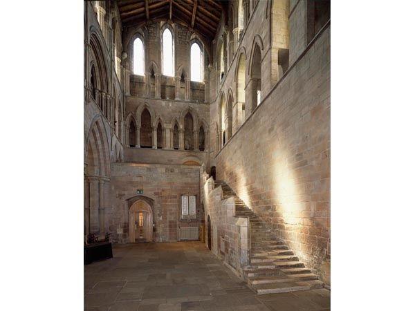 The Interior of Hexham Abbey