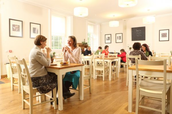 Inside Refectory Cafe