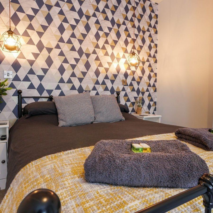 Master Bedroom Hexham Holiday Homes