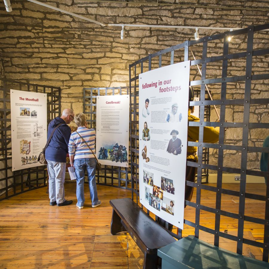 Exhibition at Hexham Old Gaol