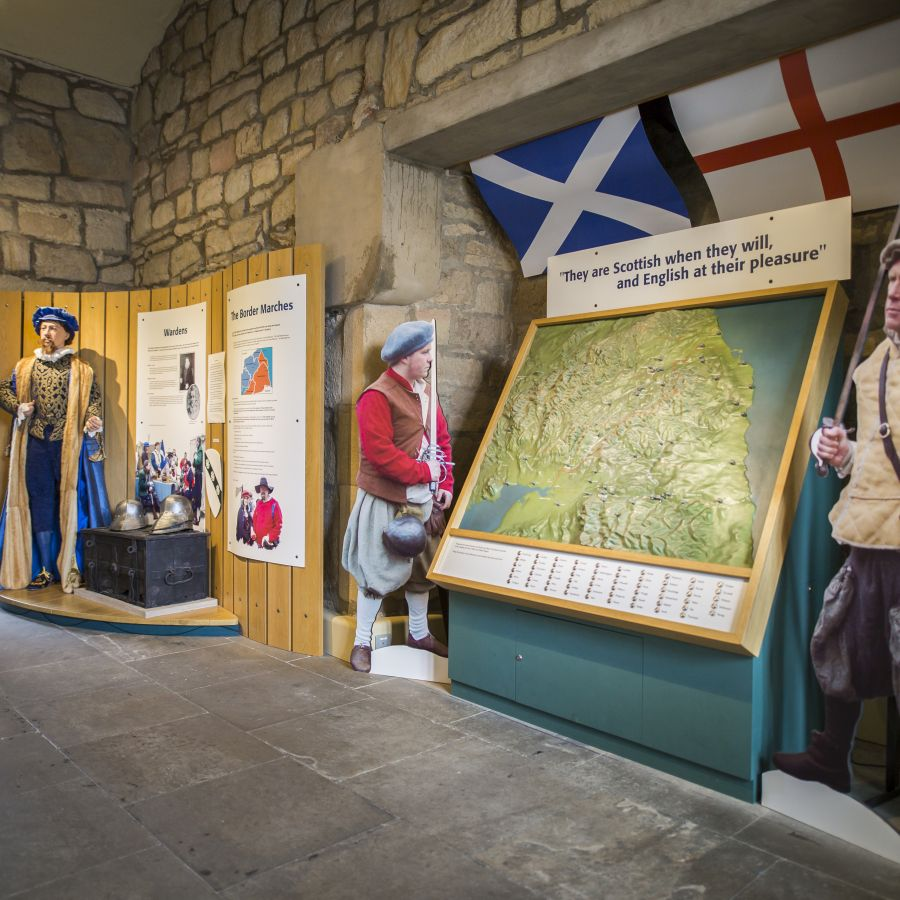 Explore the Border Reivers at Hexham Old Gaol