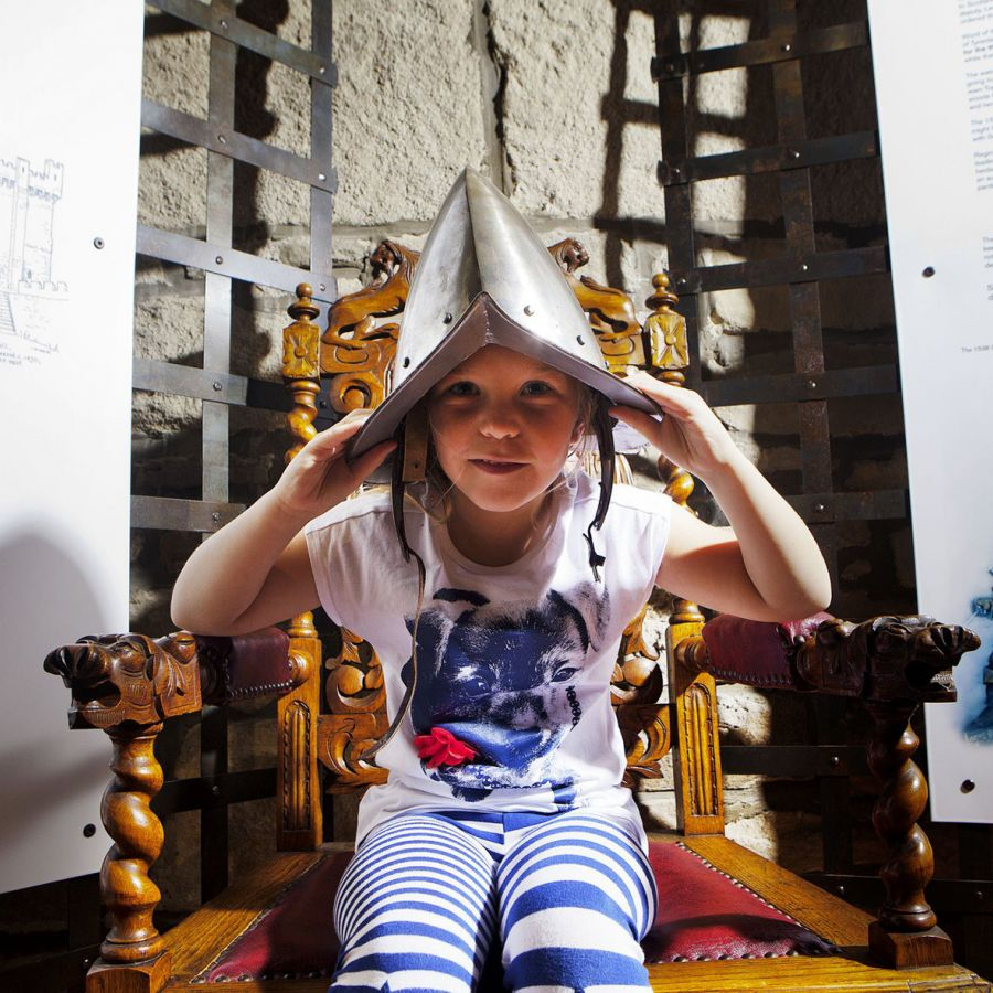 Getting into character at Hexham Old Gaol