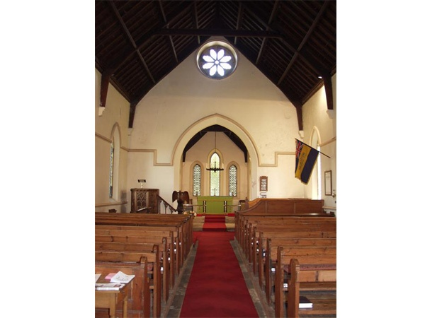 Interior of Holy Trinity