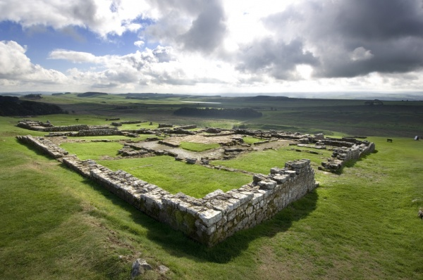 Housesteads Roman Fort is near Henshaw Barn