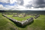 Housesteads Roman Fort is near Vindolanda Roman Excavations