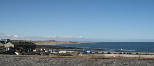 View is near Bamburgh Castle Inn