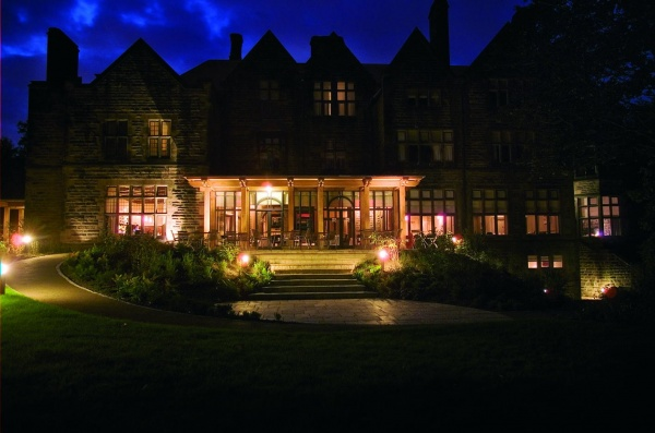 Jesmond Dene House at Night