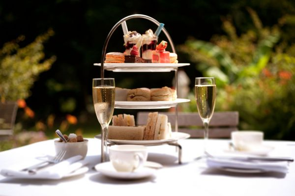 Summer Afternoon Tea on the Terrace