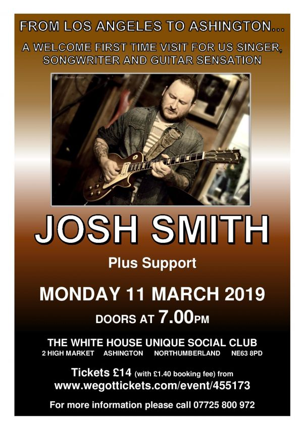 Josh Smith.... From Los Angeles to Ashington...