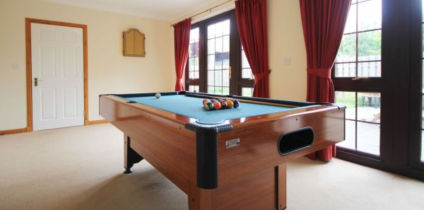 Keira's Cottage Games Room