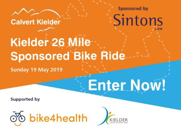 Kielder 26 MIle Sponsored Bike Ride