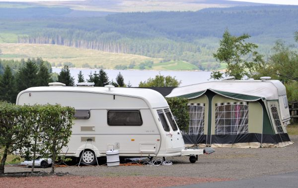 Kielder Caravan Park is near Minotaur - Nick Coombe and Shona Kitchen 2003