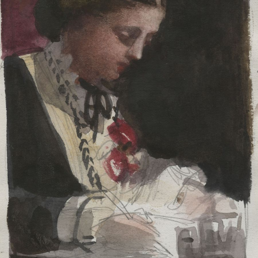 Lady Waterford Sketch