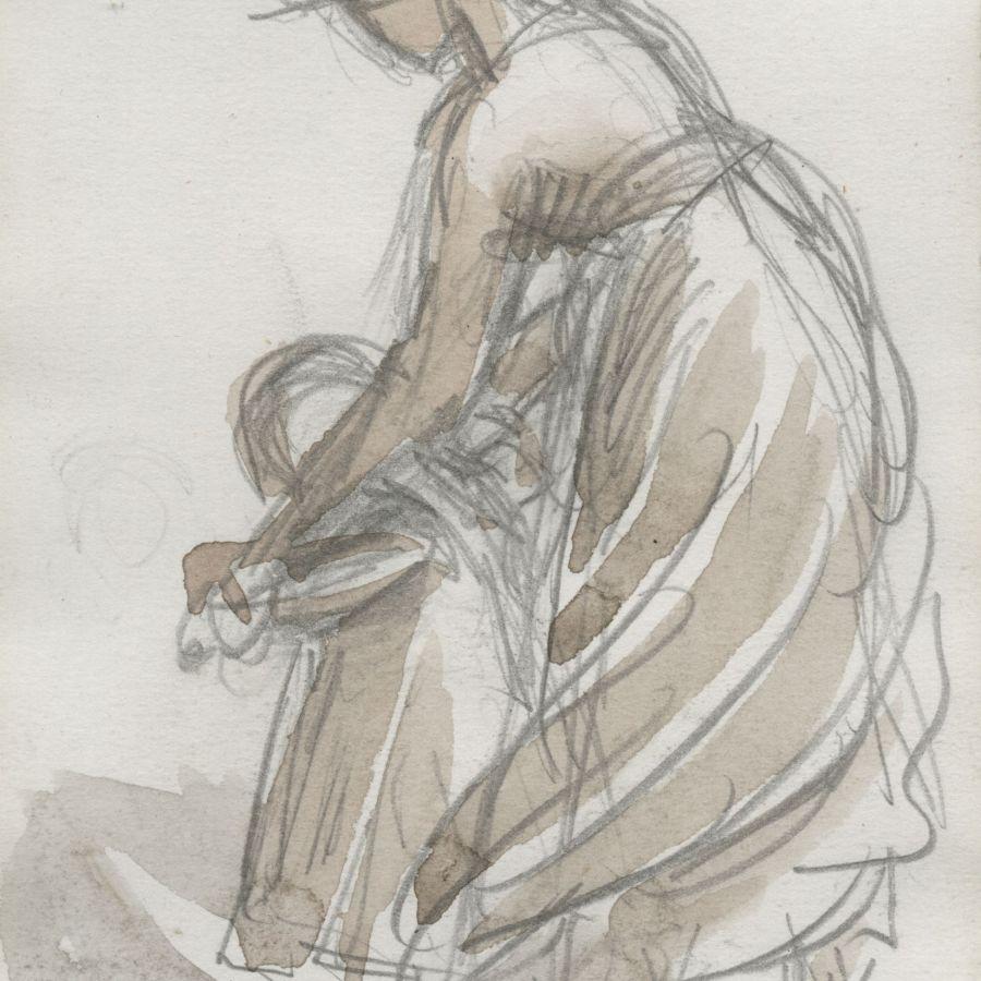 Mrs Gregory Sketch