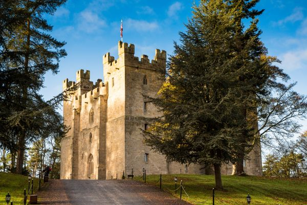 Langley Castle is near Isaac's Tea Trail