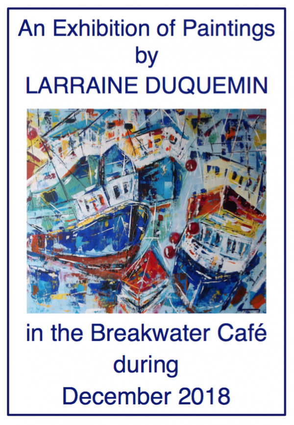 Larraine Duquemin art exhibition