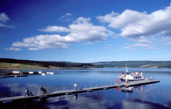 Leaplish Ferry is near Kielder Observatory - Weekend Late Night Event