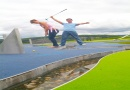 Mini golf is near Calvert Trust Kielder