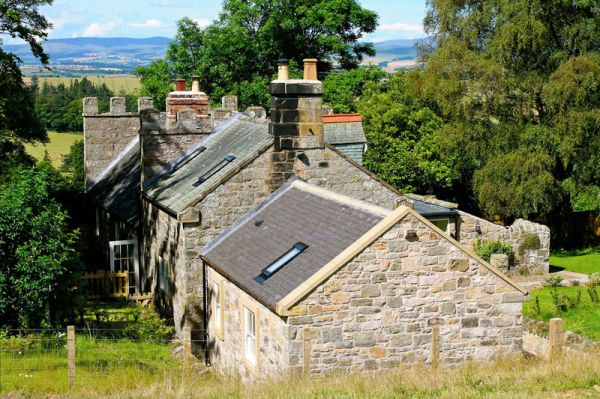 Keepers Cottage Back Garden