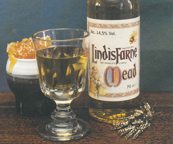 Bottle of Lindisfarne Mead is near The Manor House Fenwick