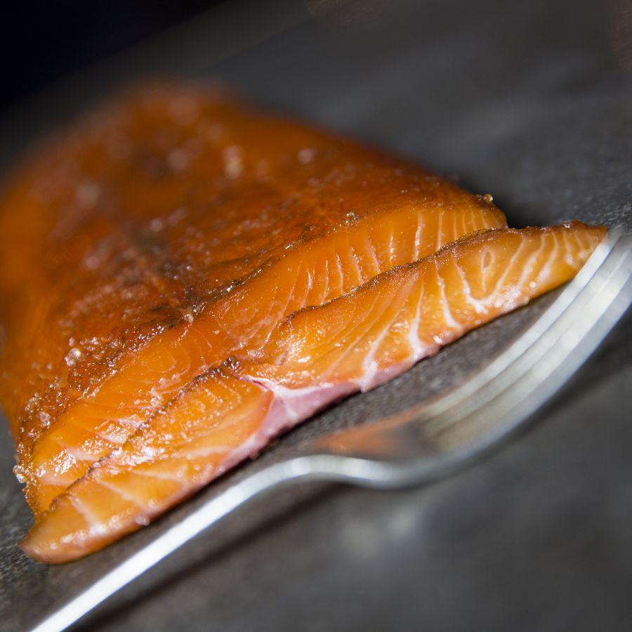 'Crewe' smoked salmon