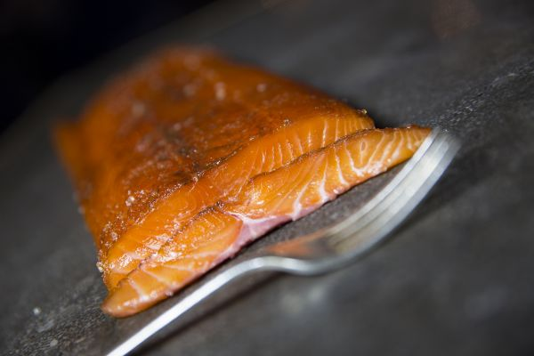 'Crewe' smoked salmon