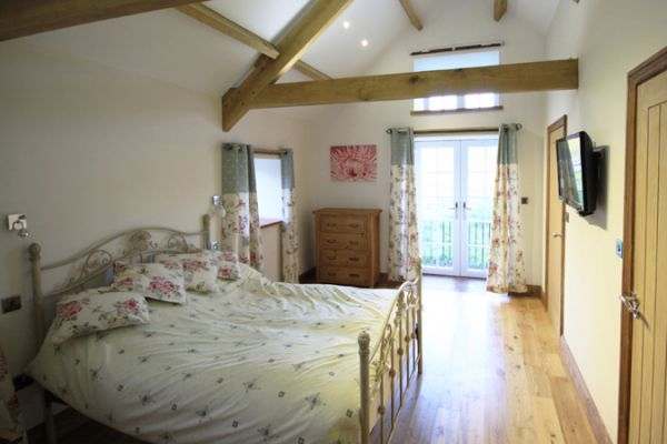 A Bedroom in Byre Cottage