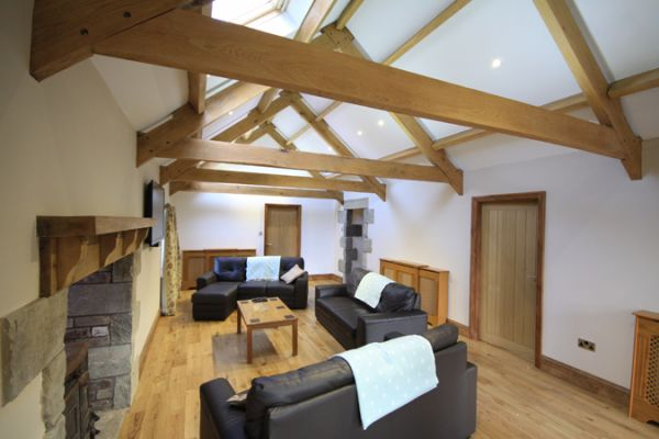 Byre Cottage Living Room