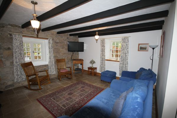Coquet Cottage Living Area