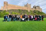 Group tour at Bamburgh