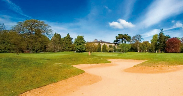 Golf course at Linden Hall is near Eshott Hall
