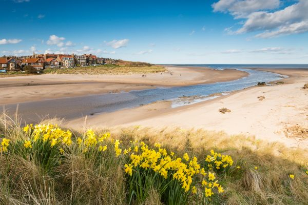 Mariners House, Alnmouth beach
