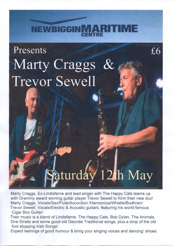 Marty Craggs and Trevor Sewell in Concert