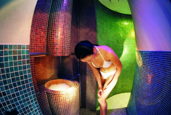 Fire and ice spa
