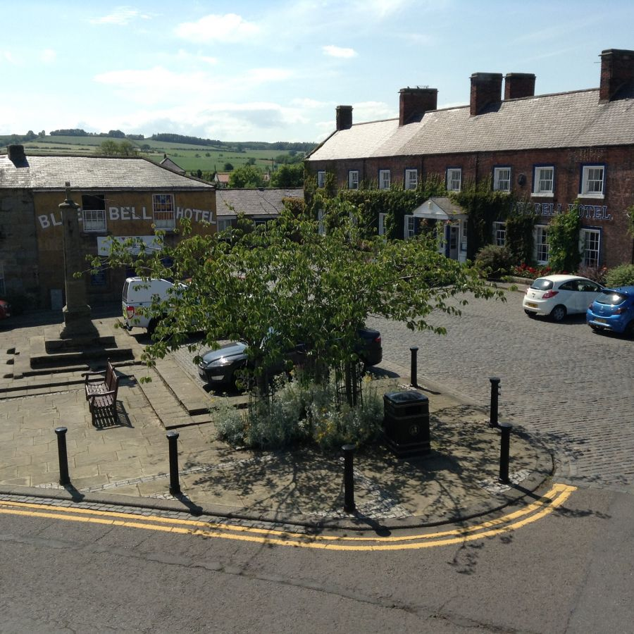 Market Place from Bank View