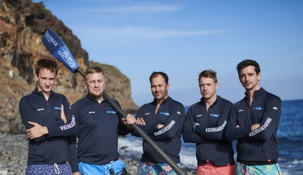 Men of Oar: Rowing the Atlantic for Charity