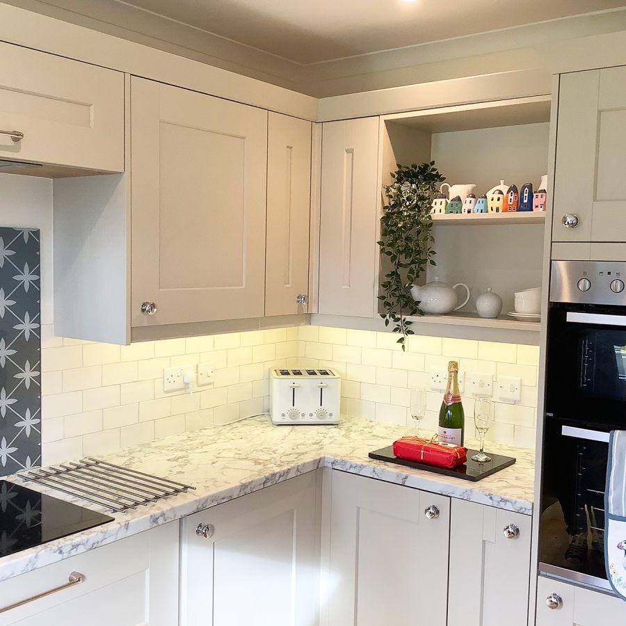 Fabulous new lodge kitchen.