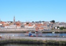 Berwick walls from the window is near Stewart Francis: Into the Punset