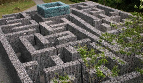 Minotaur Maze at Kielder Water is near Shaun the Sheep activity trail