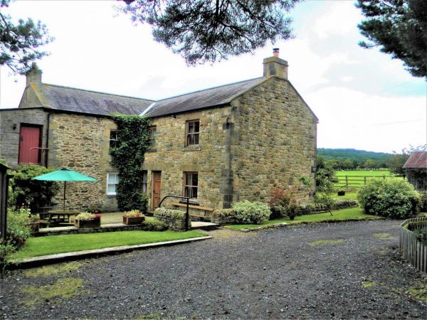 Outside Moorgair Cottage in Slaley
