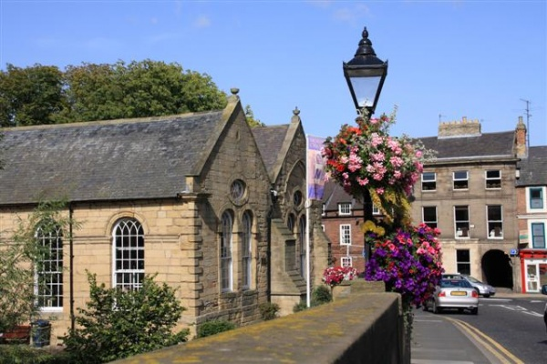 Morpeth Chantry is near St Mary Magdalene's Church