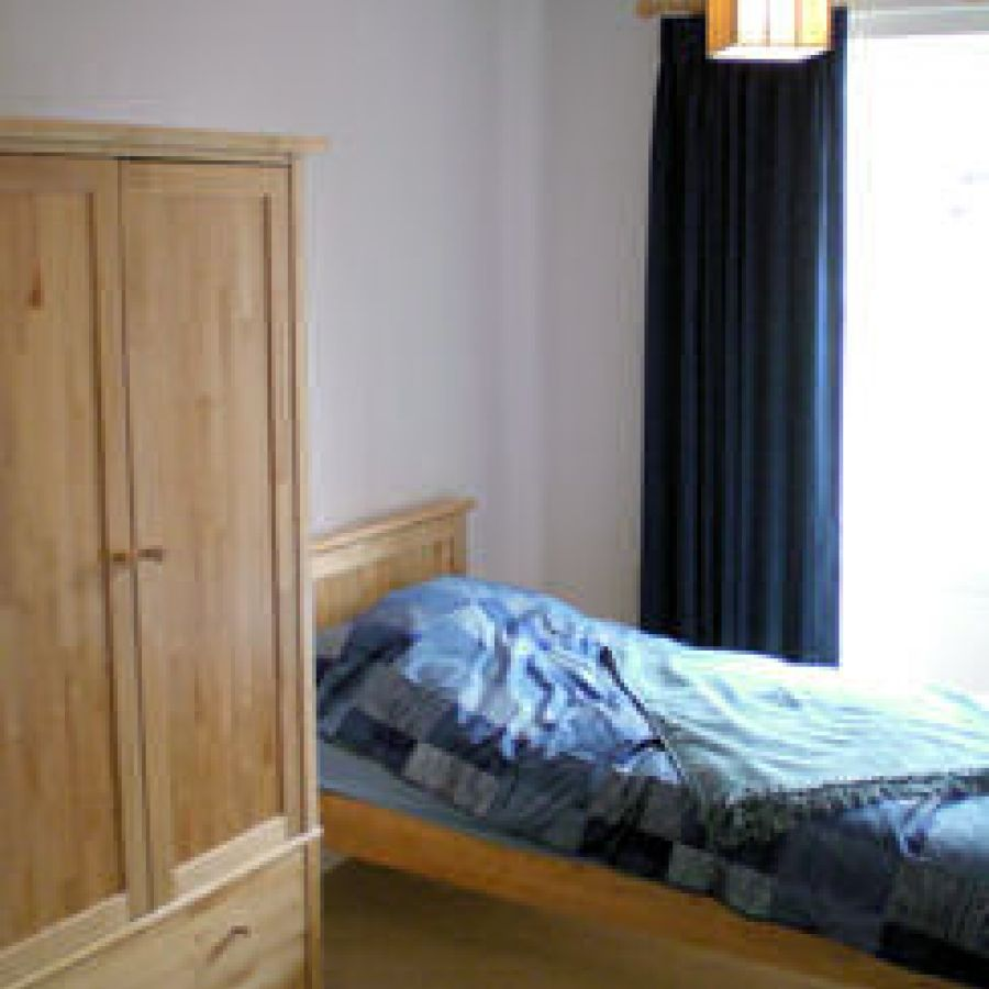 first floor twin bed room