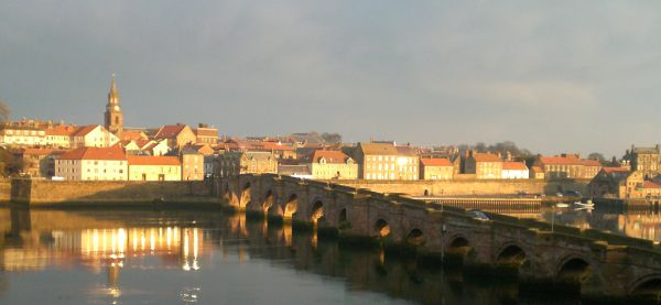 Berwick and River Tweed