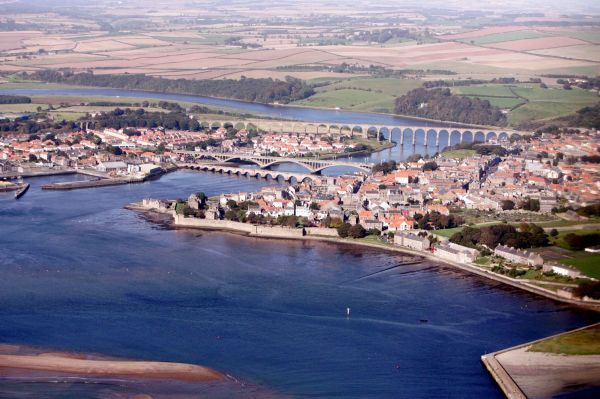 Berwick from the air