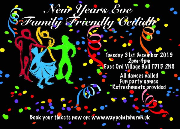 New Year's Eve Family Friendly Ceilidh