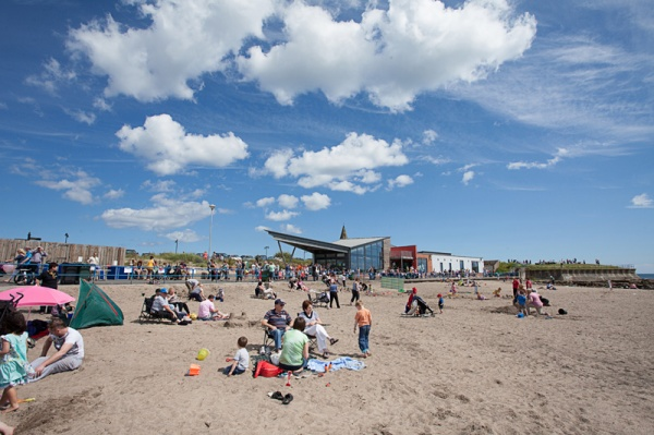 Beach Fair Scene
