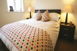 Bedroom is near Christmas Printmaking & Craft Workshops at Bamburgh Castle