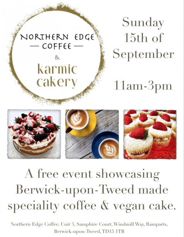 Northern Edge Coffee & Karmic Cakery Collaberation.
