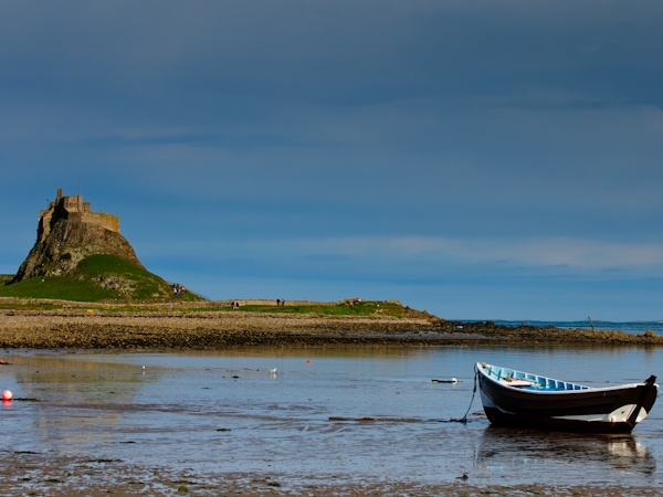 Lindisfarne Castle during one-to-one photography workshop