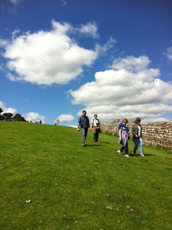 Walk along Hadrian's Wall